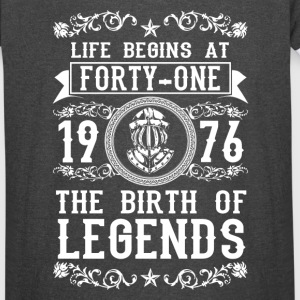 1976 - 41 years - Legends - 2017 - Vintage Sport T-Shirt