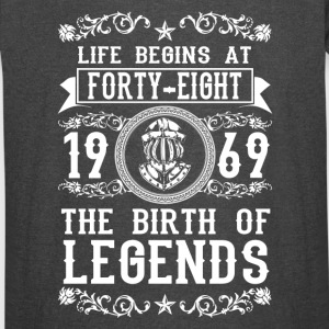 1969 - 48 years - Legends - 2017 - Vintage Sport T-Shirt