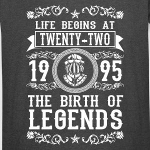 1995 - 22 years - Legends - 2017 - Vintage Sport T-Shirt
