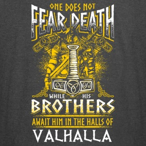 Does Not Fear Death Viking - Vintage Sport T-Shirt