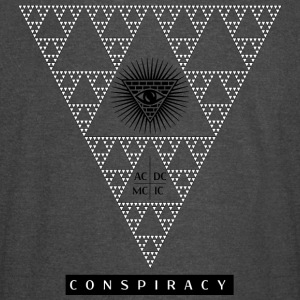 Conspiracy, who's watching? - Vintage Sport T-Shirt