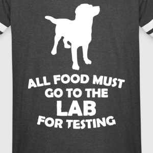 Dog Food For Testing Lab - Vintage Sport T-Shirt