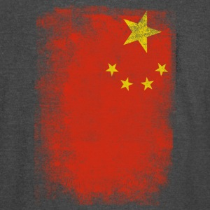 China Flag Proud Chinese Vintage Distressed - Vintage Sport T-Shirt
