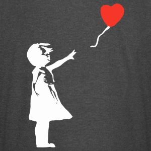Girl with Balloon - Vintage Sport T-Shirt