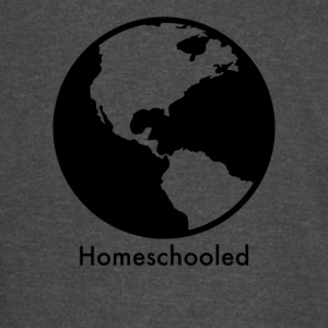 HomeSchooled - Black and White World - Vintage Sport T-Shirt