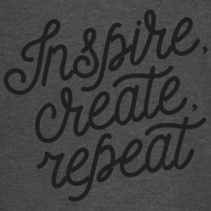 inspire create repeat - Vintage Sport T-Shirt