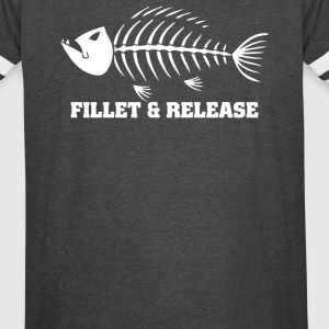 Fillet And Release Fishing - Vintage Sport T-Shirt