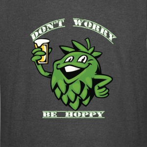 The Beer Dont Worry Be Hoppy - Vintage Sport T-Shirt