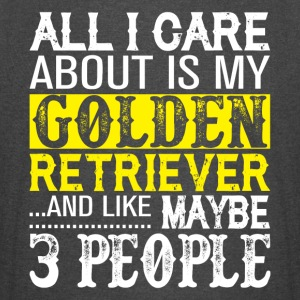 I Care About Is My Golden Retriever T Shirt - Vintage Sport T-Shirt