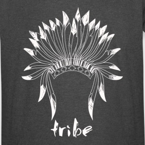 Tribe (Native American White) - Vintage Sport T-Shirt