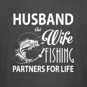 Husband And Wife Fishing Partners For Life T Shirt - Vintage Sport T-Shirt