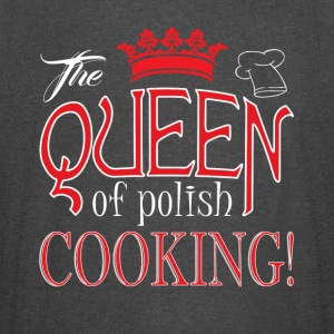 The Queen Of Polish Cooking T Shirt - Vintage Sport T-Shirt