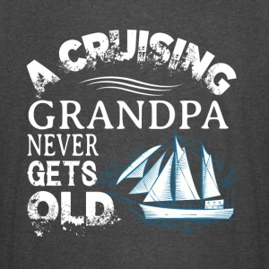 A Cruising Grandpa Never Gets Old T Shirt - Vintage Sport T-Shirt