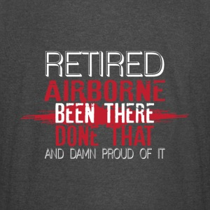 Retired Airborne Been There Done That T Shirt - Vintage Sport T-Shirt