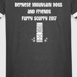 Bernese Mountain Dogs and Friends - Vintage Sport T-Shirt