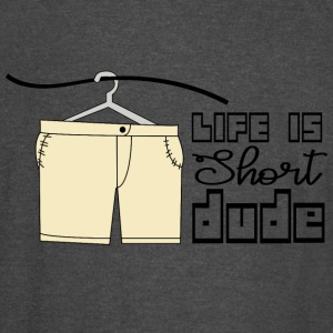 CREATIVE DESIGN || LIFE IS SHORT - Vintage Sport T-Shirt