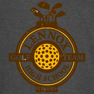 Lennox Golf Team High School Tigers - Vintage Sport T-Shirt