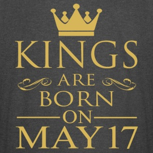 Kings are born on May 17 - Vintage Sport T-Shirt
