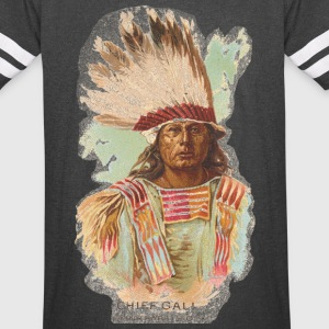 Native American Historical Art Chief Gall - Vintage Sport T-Shirt