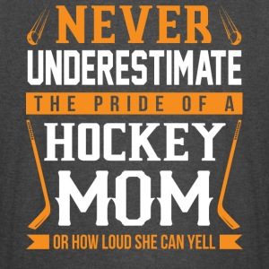 The Pride Of A Hockey Mom T Shirt - Vintage Sport T-Shirt