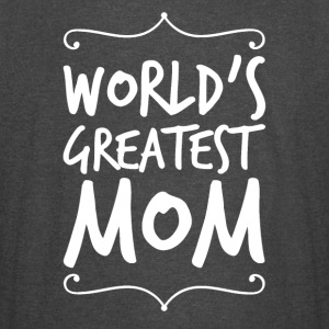 world's greatest mom - Vintage Sport T-Shirt