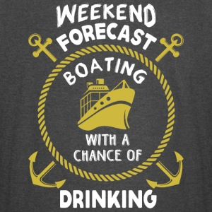 Weekend Forecast Boating T Shirt - Vintage Sport T-Shirt