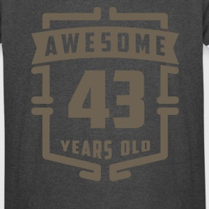 Awesome 43 Years Old - Vintage Sport T-Shirt