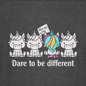 Dare to be Different Unicorn - Vintage Sport T-Shirt