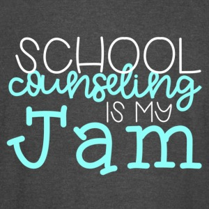 School Counseling is my Jam - Vintage Sport T-Shirt