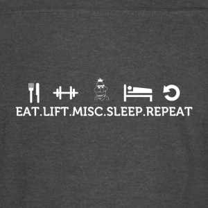 Eat lift sleep misc repeat - Vintage Sport T-Shirt
