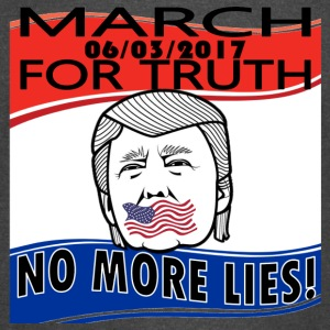 March For Truth - 6-3-2017- No More Lies - Vintage Sport T-Shirt