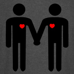 Gay men in love from Bent Sentiments - Vintage Sport T-Shirt