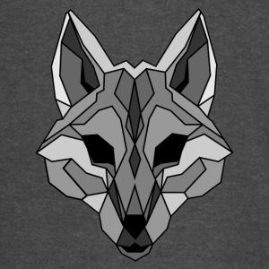 Lineart of a wolf / wolf gray - Vintage Sport T-Shirt