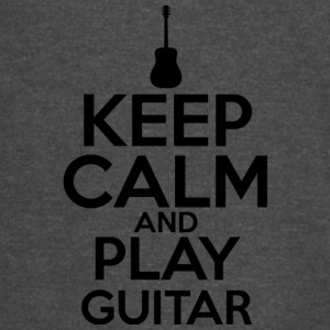 Keep Calm And Play Guitar T Shirt - Vintage Sport T-Shirt