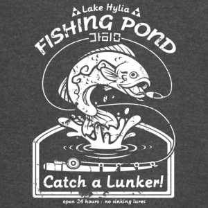 Fishing Pond Catch A Lunker T Shirt - Vintage Sport T-Shirt