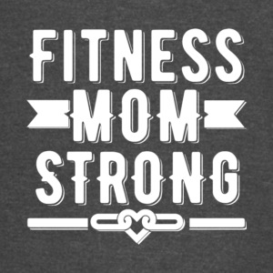 Fitness Mom Strong T Shirt - Vintage Sport T-Shirt