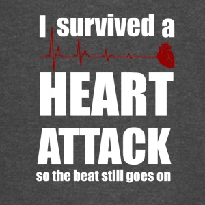 I survived a Heart Attack - Vintage Sport T-Shirt