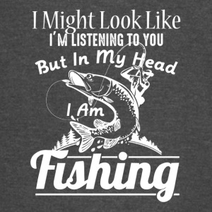 IN MY HEAD I'M FISHING SHIRT - Vintage Sport T-Shirt