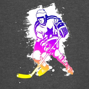 Icehockey hockey player Team canada rainbow lol - Vintage Sport T-Shirt