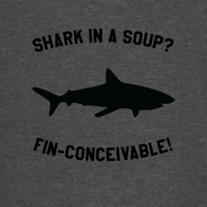 Shark In A Soup? FIN-CONCEIVABLE! - Vintage Sport T-Shirt