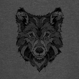 Wolf - Fury - Vintage Sport T-Shirt