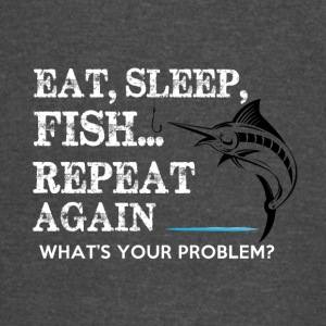 FISHING EAT SLEAP - Vintage Sport T-Shirt