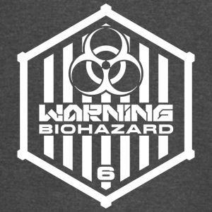 Warning: Biohazard - Vintage Sport T-Shirt