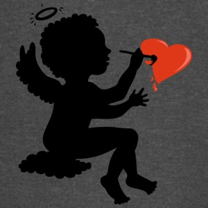 angel-draws-heart - Vintage Sport T-Shirt