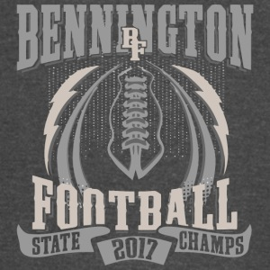 Bennington BF Football State 2017 Champs - Vintage Sport T-Shirt