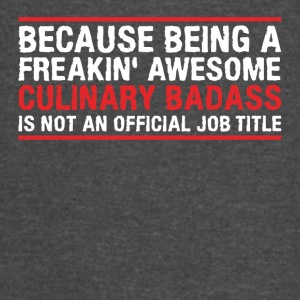 Because being a freakin awesome - Vintage Sport T-Shirt