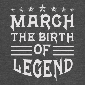 March The Birth of Legend - Vintage Sport T-Shirt