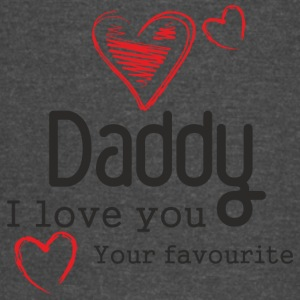 Fathers Day Gift Coffee Mug Daddy I Love You - Vintage Sport T-Shirt