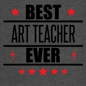 Best Art Teacher Ever - Vintage Sport T-Shirt