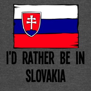I'd Rather Be In Slovakia - Vintage Sport T-Shirt